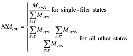 Formula_9: National-Level Single-Filer Adjustments
