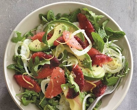 Photo of a salad.