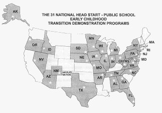 Map of Demonstration Programs