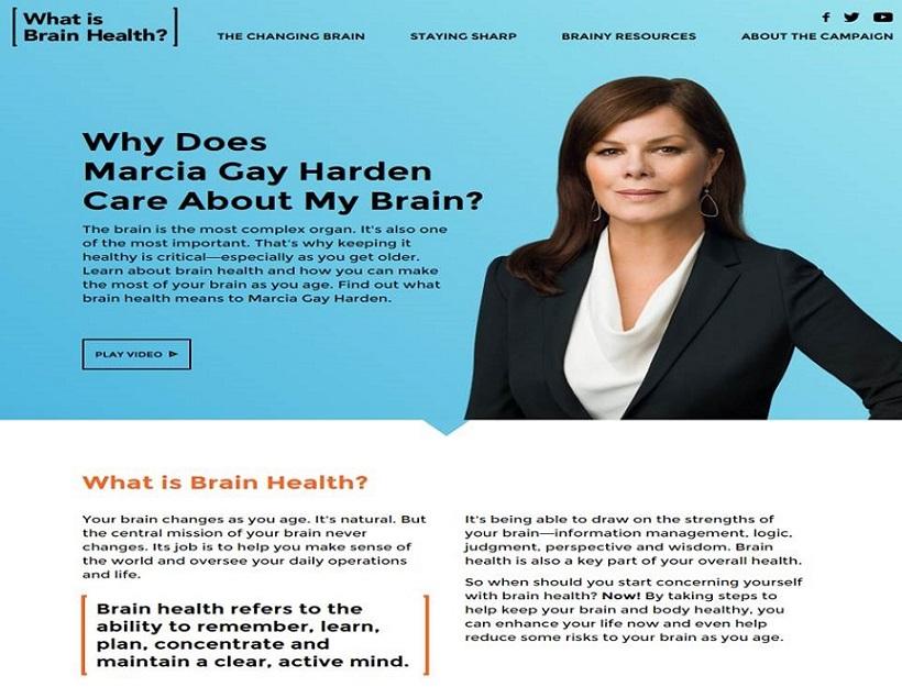 What is Brain Health? screen shot.