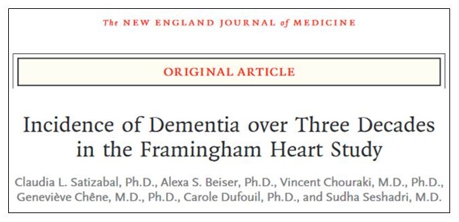 Screen shot of the New England Journal of Medicine.