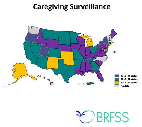 CDC Infographic: Caregiving Surveillance.