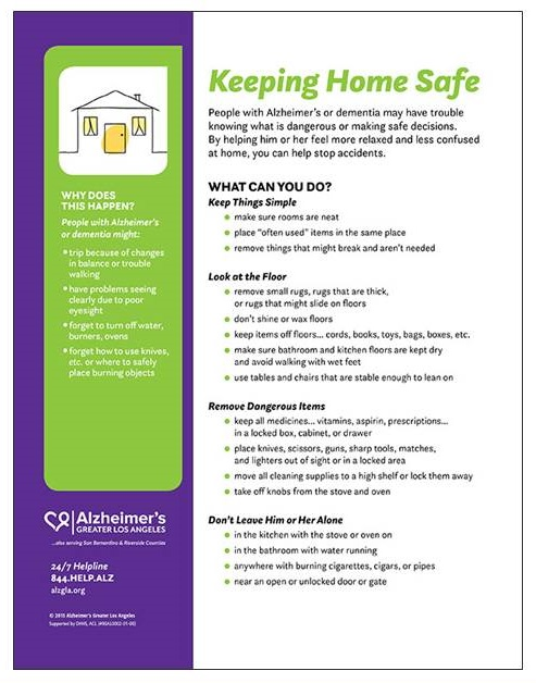 Poster: Keeping Home Safe.