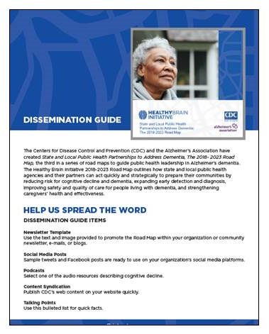 Dissemination Guide cover.