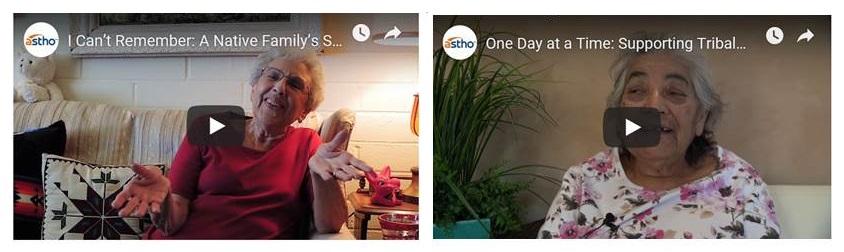 Screen shots of astho website videos.