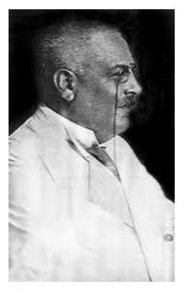 Photo image of Alois Alzheimer.