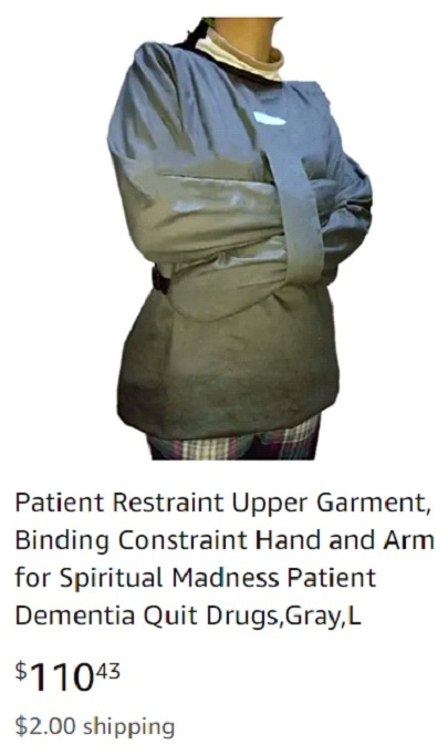 Image of Patient Restraint Upper Garment.