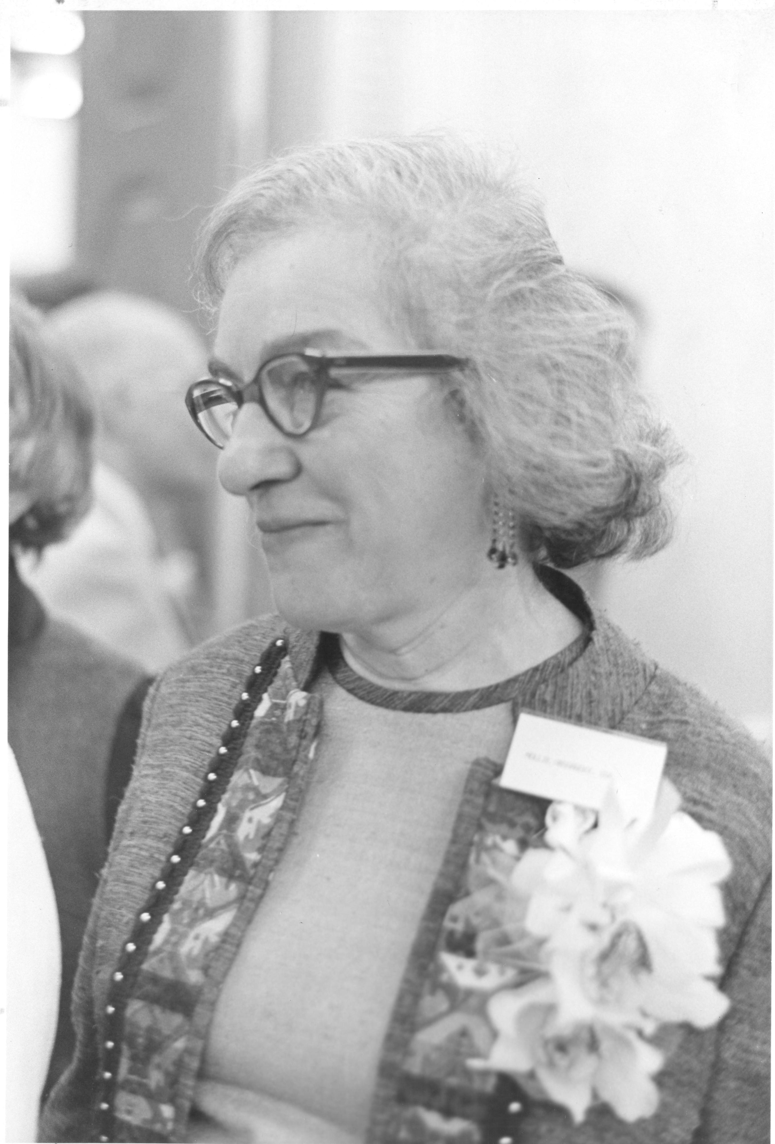 Mollie Orshansky in 1967.