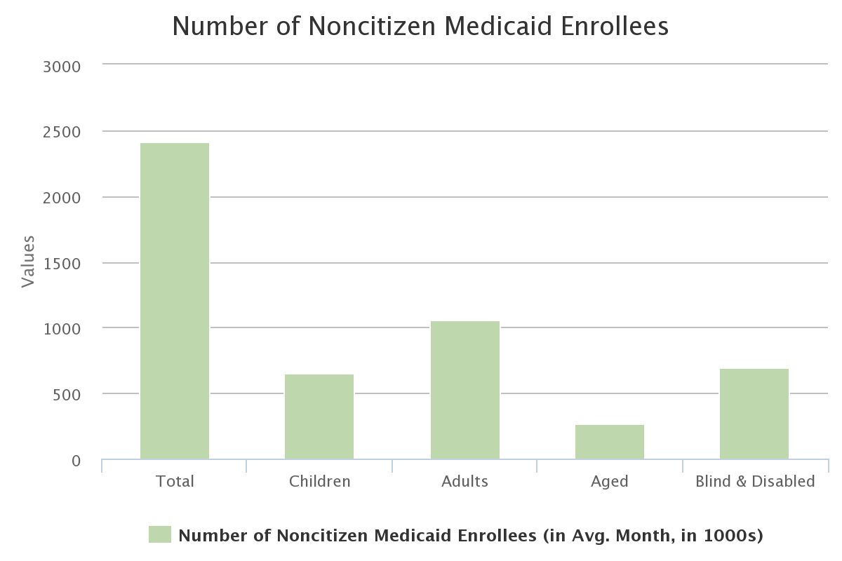 Number of Noncitizen Medicaid Enrollees