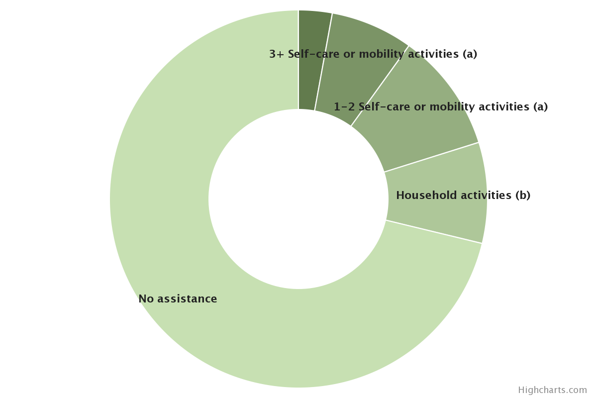 Types of Assistance Received by Older Americans